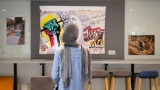 Images of since-'erased' Sudanese protest art shown in London